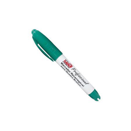 Pincel para quadro branco recarregável verde - Radex
