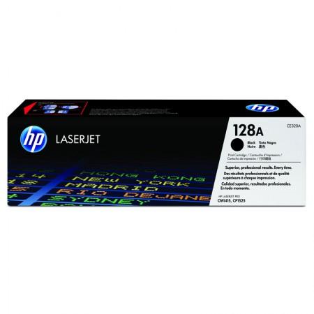 Toner HP Original (128A) CE320AB - preto 2000 páginas