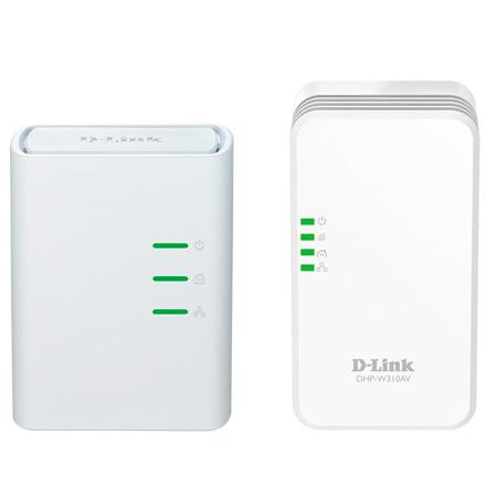 Repetidor Wireless 300Mbps Kit Powerline DHP-W311AV - D-Link