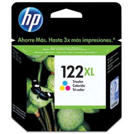 Cartucho HP Original (122XL) CH564HB - cores rendimento 330 páginas