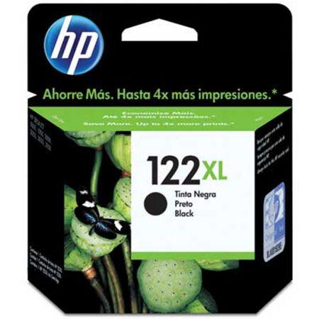 Cartucho HP Original (122XL) CH563HB - preto rendimento 480 páginas