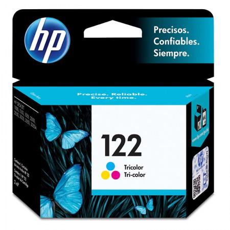 Cartucho HP Original (122)CH562HB cores rend.100pgs