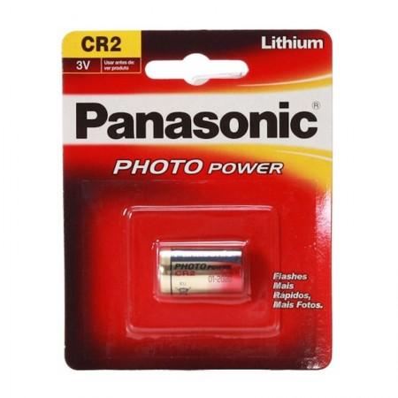 Bateria 3 volts CR2 - Panasonic