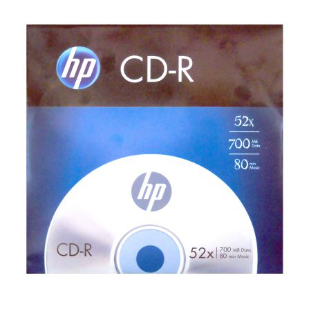 CD-R virgem 700MB 80 minutos - envelope - HP