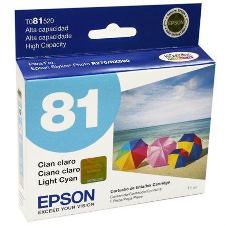 Cartucho Epson (81) T081520 - Ciano claro