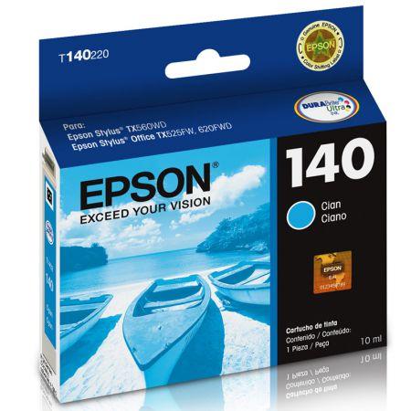 Cartucho Epson (140) T140220 - ciano 755 páginas