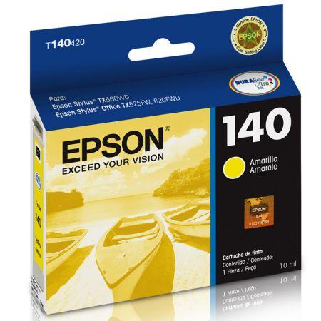Cartucho Epson (140) T140420 - amarelo 755 páginas