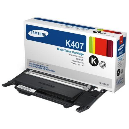 Toner Samsung CLT-K407S - preto 1500 páginas - serie CLP-320/325