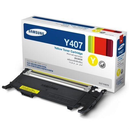 Toner Samsung CLT-Y407S - amarelo 1000 páginas - serie CLP-320/325