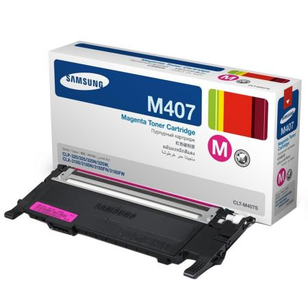 Toner Samsung CLT-M407S - magenta 1000 páginas - serie CLP-320/325