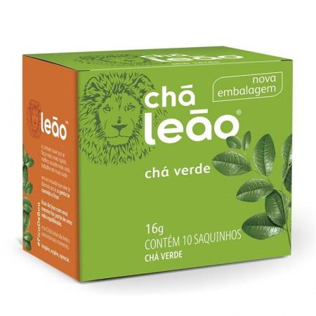 Chá verde natural - com 10 unidades - Leão Fuze