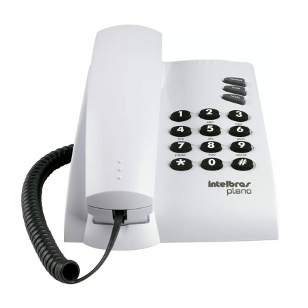 Telefone Pleno com chave cinza ártico - Intelbras