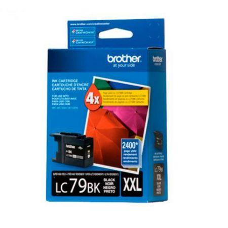Cartucho Brother LC79BK - preto 2400 páginas