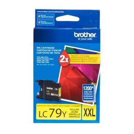 Cartucho Brother LC79Y - amarelo 1200 páginas