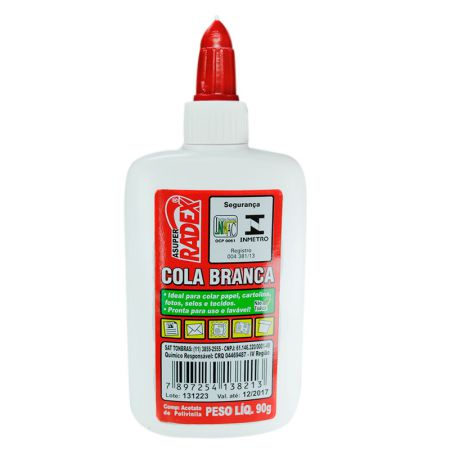 Cola branca escolar 90g - Radex