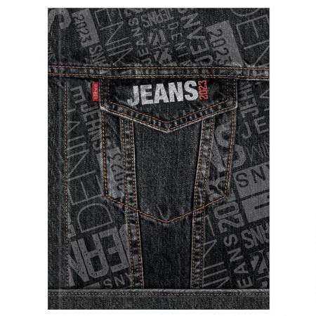 Agenda costurada Jeans 2021 - Capa 3 - Tilibra