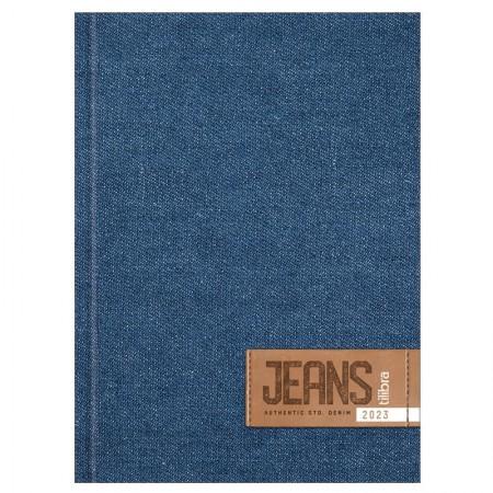 Agenda costurada Jeans 2021 - Capa 4 - Tilibra