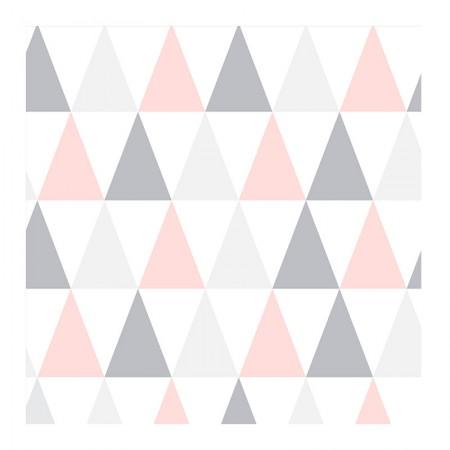 Adesivo Triângulo Rosa - rolo com 2 metros - 270115C/2 - Contact