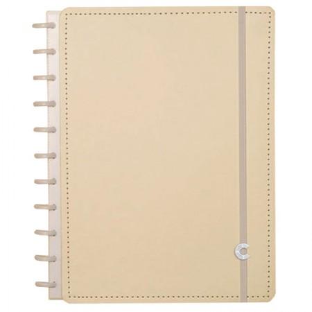 Caderno inteligente grande Amarelo Pastel - CIGD4077/34