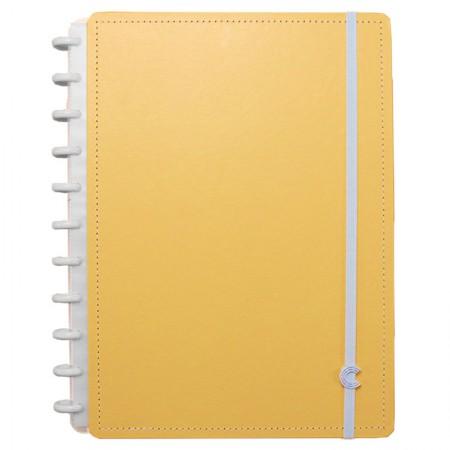Caderno inteligente grande Laranja Pastel - CIGD4091