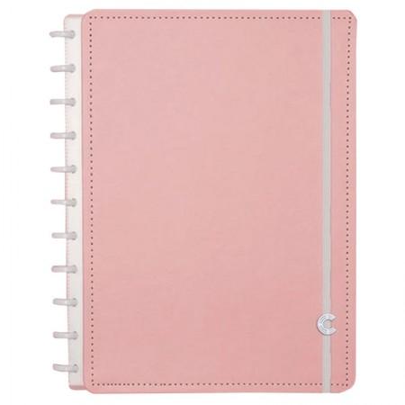 Caderno inteligente grande Rosê Pastel - CIGD4081/37