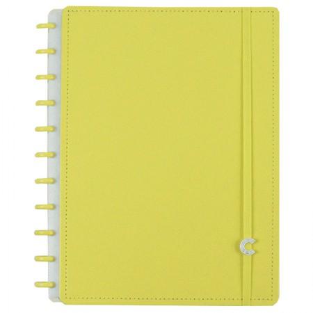 Caderno inteligente grande All Yellow - CIGD4088