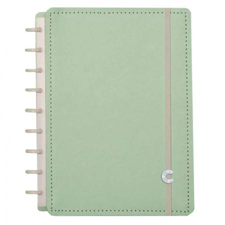 Caderno inteligente médio Verde Pastel - CIMD3082/38