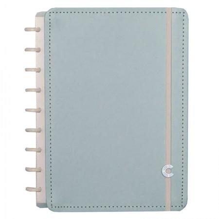 Caderno inteligente médio Azul Pastel - CIMD3079