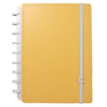 Caderno inteligente médio Laranja Pastel - CIMD3091