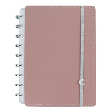 Caderno inteligente médio Chic Nude - CIMD3084