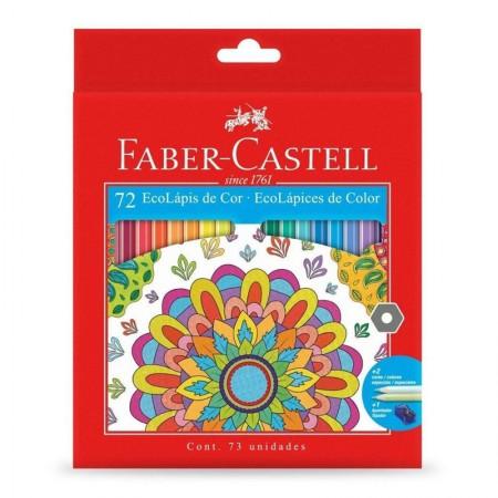 Lápis de cor 72 cores - 120172G - Faber-Castell