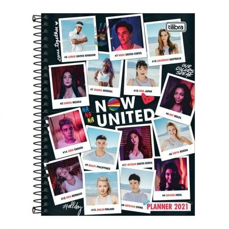 Agenda planner espiral semanal Now United - 2021 - M7 - Capa 4 - Tilibra
