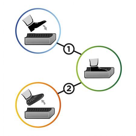 Sapatilhas descartáveis para calçados - SCP001 - Elg