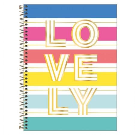 Caderno espiral capa dura universitário 1x1 - 80 folhas - Be Nice - 3 - Tilibra