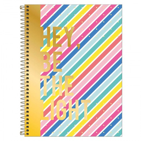 Caderno espiral capa dura universitário 1x1 - 80 folhas - Be Nice - 2 - Tilibra