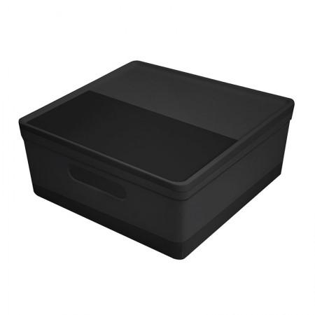 Caixa organizadora média soul - preta - 3082.PP - Dello