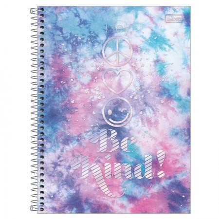Caderno espiral capa dura universitário 1x1 - 80 folhas - Good Vibes - 2 - Tilibra