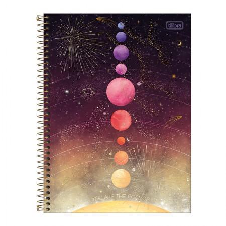Caderno espiral capa dura universitário 10x1 - 160 folhas - Magic - 4 - Tilibra