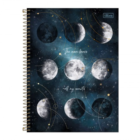 Caderno espiral capa dura universitário 10x1 - 160 folhas - Magic - 3 - Tilibra
