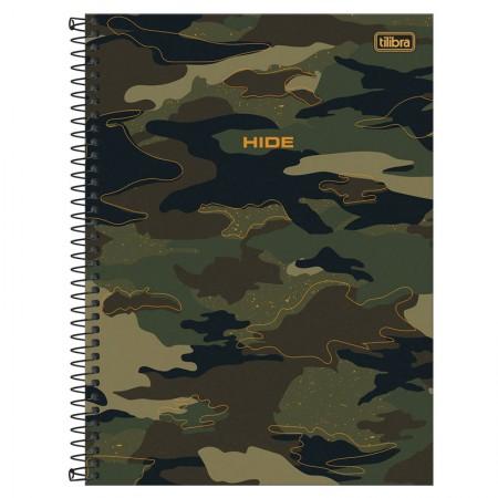 Caderno espiral capa dura universitário 10x1 - 160 folhas - Hide - 2 - Tilibra