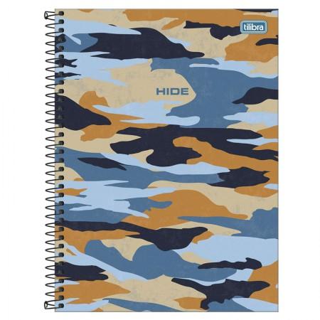 Caderno espiral capa dura universitário 1x1 - 80 folhas - Hide - 3 - Tilibra