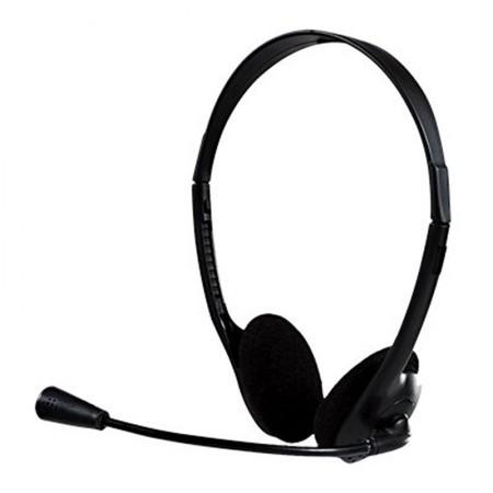 Headset office com fio P2 Preto 0010 - Bright
