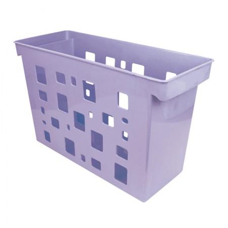 Caixa arquivo Dellocolor - lilás pastel - 0329.LP - sem pasta - Dello