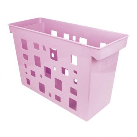 Caixa arquivo Dellocolor - rosa pastel - 0329.WP - sem pasta - Dello