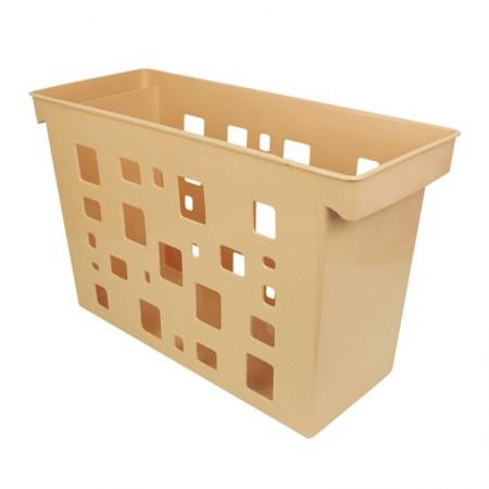 Caixa arquivo Dellocolor - laranja pastel - 0329.MP - sem pasta - Dello