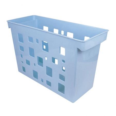 Caixa arquivo Dellocolor - azul pastel - 0329.BP - sem pasta - Dello