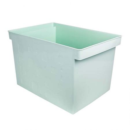Caixa organizadora larga multiuso protêa - verde pastel - 0335.VP - Dello