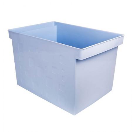 Caixa organizadora larga multiuso protêa - azul pastel - 0335.BP - Dello