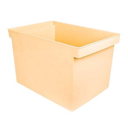 Caixa organizadora larga multiuso protêa - amarelo pastel - 0335.AP - Dello