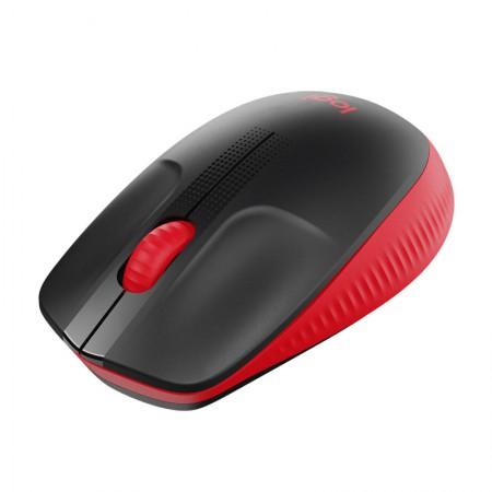 Mouse sem fio M190 vermelho - Logitech
